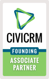 CiviCRM Founding Associate Partner logo